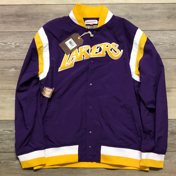 771ddf90 Mitchell & Ness Jackets & Coats | Authentic La Lakers Warmup Jacket ...